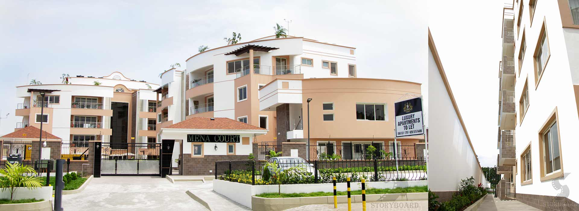 mena court at cantonments | luxury and serviced apartments to let
